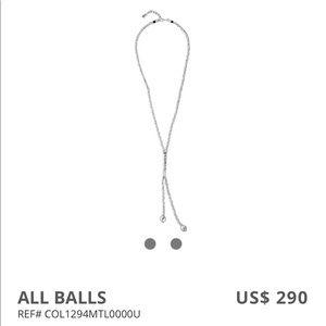 Uno de 50 All Balls Necklace